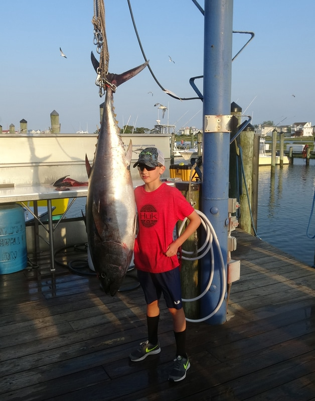 Huk 39 ed out ocean city maryland sportfishing offshore for Maryland fishing report